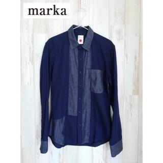 マーカ(marka)のmarka マーカ 切替デザインボタンシャツ(シャツ)
