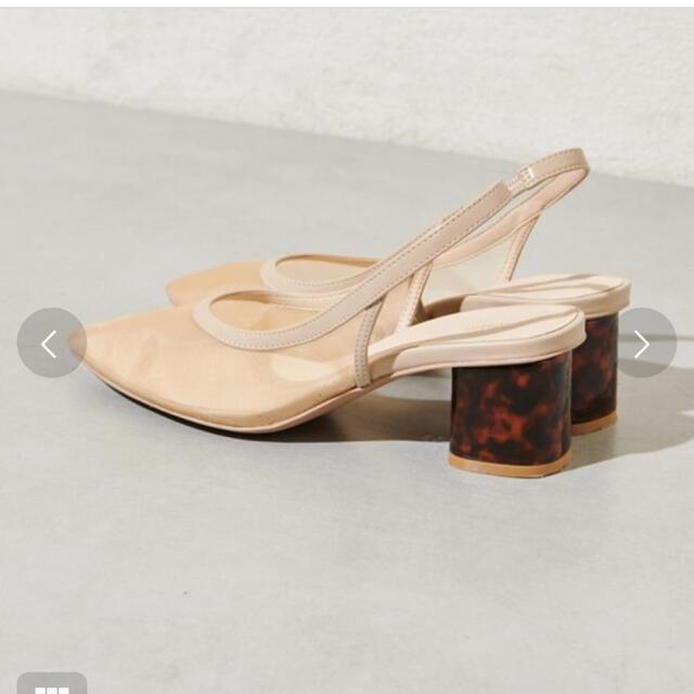 mystic(ミスティック)のあい様✨mystic✨ チュールバックストラップサンダル レディースの靴/シューズ(ハイヒール/パンプス)の商品写真