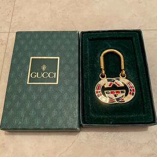 Gucci - 【極美品】GUCCI グッチ キーホルダー