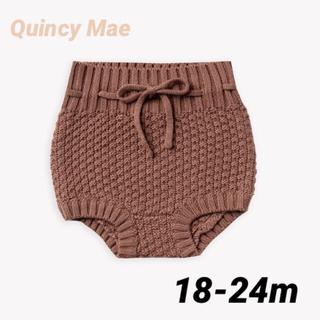 こどもビームス - Quincy Mae(クインシーメイ) ニットブルマ 18-24m
