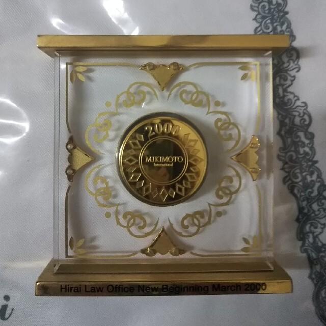 MIKIMOTO(ミキモト)のMIKIMOTO パール付き クリスタル置時計 インテリア/住まい/日用品のインテリア小物(置時計)の商品写真