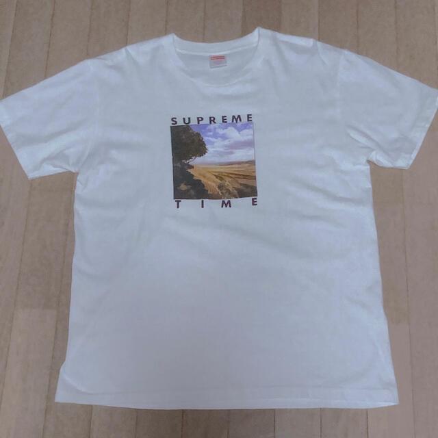 Supreme(シュプリーム)のSUPREME Supreme Time Tee メンズのトップス(Tシャツ/カットソー(半袖/袖なし))の商品写真