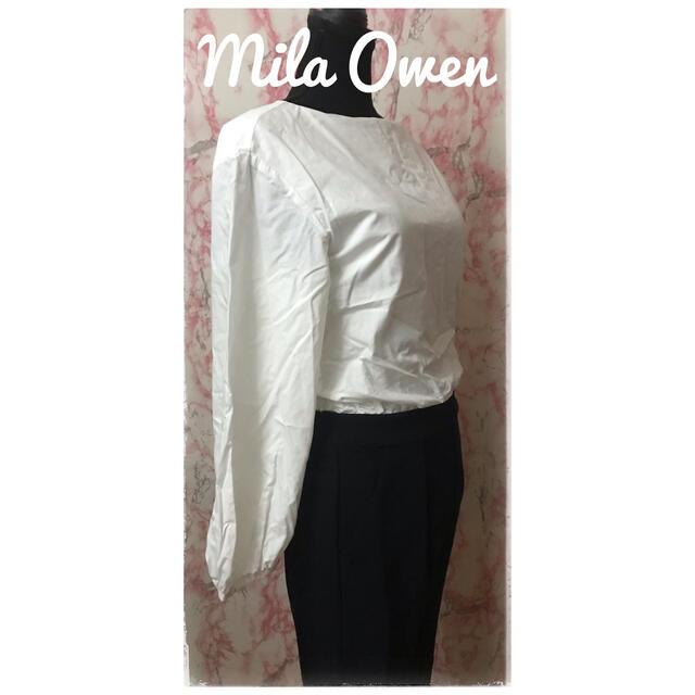 Mila Owen(ミラオーウェン)の【まとめ割対象】オールインワン Mila Owen ミラオーウェン おまけ付き レディースのパンツ(オールインワン)の商品写真