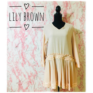 Lily Brown - 【まとめ割対象】ワンピース ローウエスト Lily Brown リリーブラウン