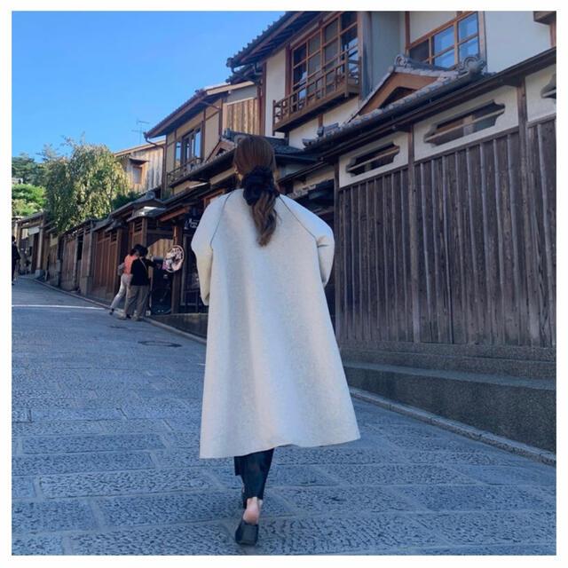 IENA(イエナ)の'NUEmade' 2020 bonding coat レディースのジャケット/アウター(ロングコート)の商品写真