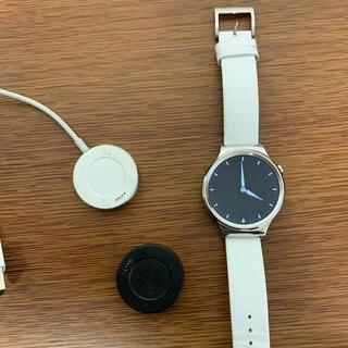 huawei watch w1 + wena wrist leather edy(腕時計(デジタル))