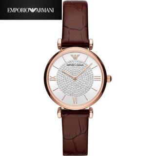 エンポリオアルマーニ(Emporio Armani)のエンポリオアルマーニ 腕時計 ピンク ゴールド アナログ レディース クォーツ(腕時計)