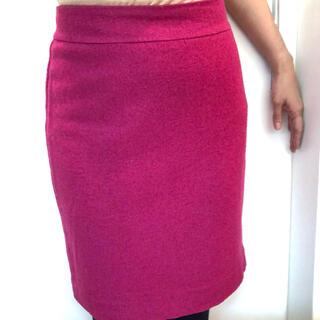 バナナリパブリック(Banana Republic)のバナナリパブリック ピンク タイトスカート 0(ひざ丈スカート)
