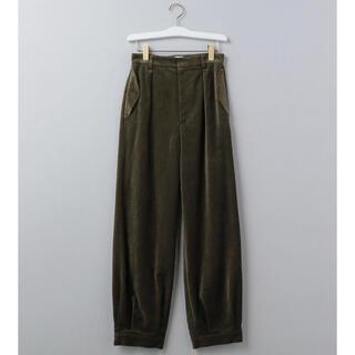BEAUTY&YOUTH UNITED ARROWS - 6(ROKU) VELOUR PANTS ベロアパンツ オリーブ サイズ36
