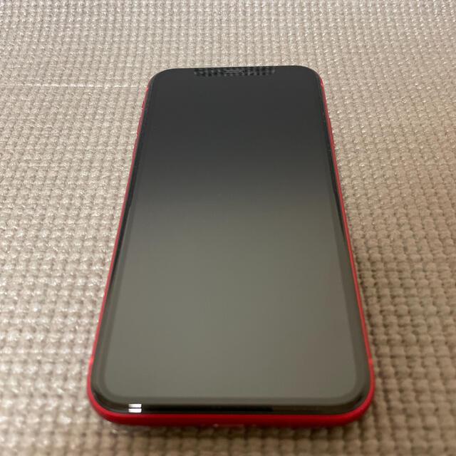 iPhone(アイフォーン)のiPhone11 (PRODUCT)RED 128GB SIMフリー スマホ/家電/カメラのスマートフォン/携帯電話(スマートフォン本体)の商品写真