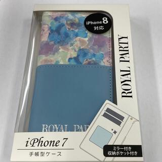 ROYAL PARTY iPhone7/8/SE第2世代手帳ケース