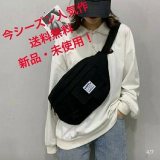 【人気SALE】男女兼用 斜めがけメッセンジャーバッグ ボディバッグ 黒(メッセンジャーバッグ)