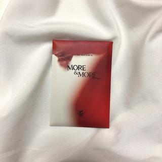 TWICE MORE&MORE アルバム特典トレカ B(K-POP/アジア)