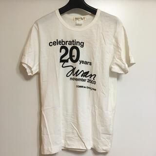 コムデギャルソン(COMME des GARCONS)のCOMMEdesGARCONS COMMEdesGARCONS ロゴ入り(Tシャツ(半袖/袖なし))