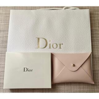 Dior - 【新品未使用】Dior ノベルティ カードケース ショッパー付き
