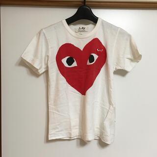 コムデギャルソン(COMME des GARCONS)のPLAY COMMEdesGARCONS 半袖Tシャツ(Tシャツ(半袖/袖なし))