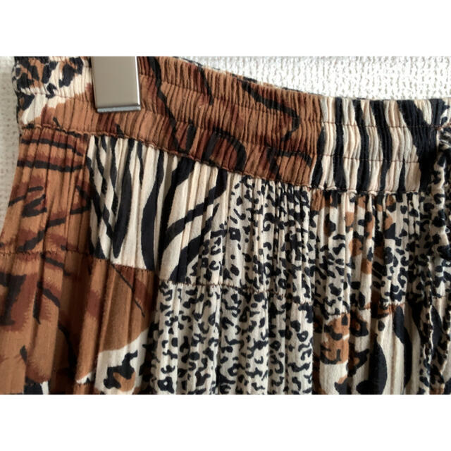 EDIT.FOR LULU(エディットフォールル)のleopard patchwork skirt レディースのスカート(ロングスカート)の商品写真