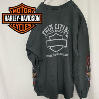 ハーレーダビッドソン(Harley Davidson)のHARLEY-DAVIDSON L/S Tシャツ(Tシャツ/カットソー(七分/長袖))