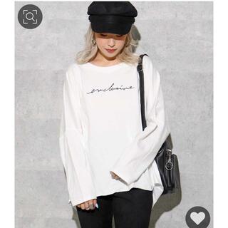 アナップ(ANAP)のanapバックスリットロンT(Tシャツ(長袖/七分))