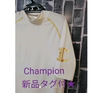 Champion - 新品タグ付★Championチャンピオン★ビッグロゴ入りダブルドライTシャツ★