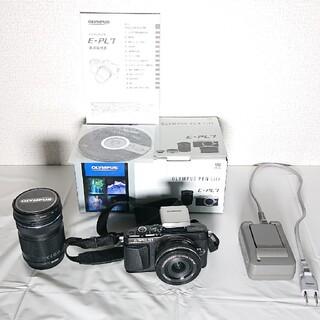OLYMPUS - オリンパス PL7 ミラーレスカメラ ダブルズームキット