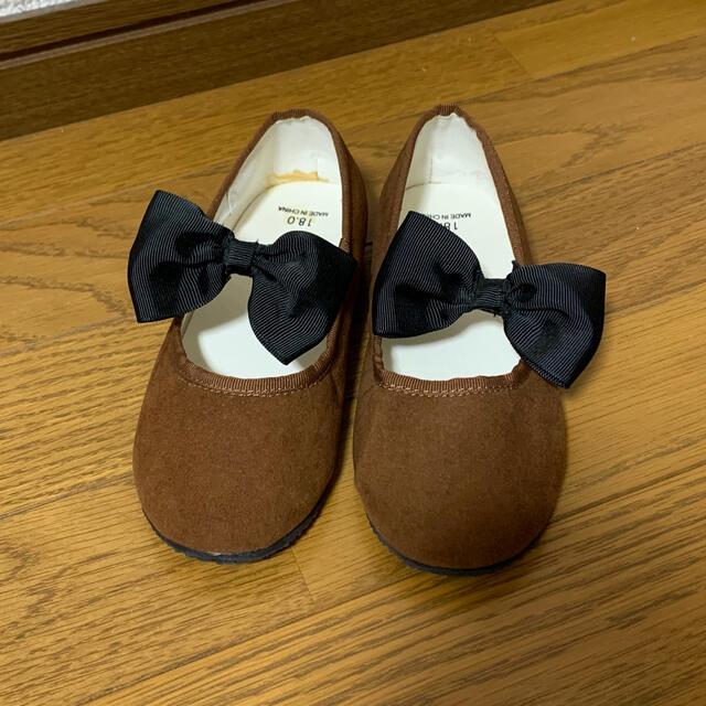 SunnyLandscape(サニーランドスケープ)のアプレレクール フラットシューズ 18cm キッズ/ベビー/マタニティのキッズ靴/シューズ(15cm~)(フォーマルシューズ)の商品写真
