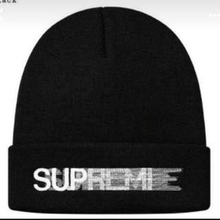 Supreme - Supreme Motion Logo Beanie Black