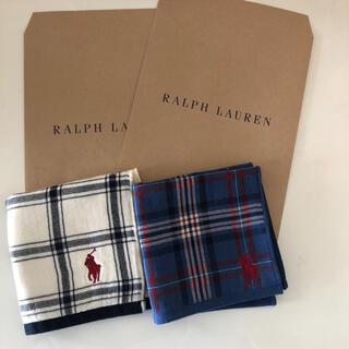 Ralph Lauren - ラルフローレンタオルハンカチ