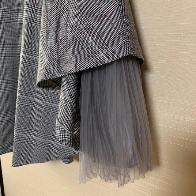 Noela(ノエラ)のノエラ チェックスカート レディースのスカート(ひざ丈スカート)の商品写真