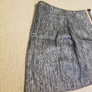 エイチアンドエム(H&M)の⭐値下げ⭐H&M シルバー⭐ミニスカート(ミニスカート)