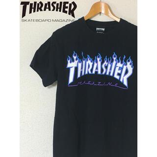 スラッシャー(THRASHER)のTHRASHER スラッシャー 黒 紫 水色(Tシャツ/カットソー(半袖/袖なし))