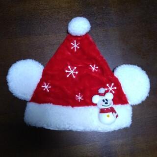 Disney - ★ディズニークリスマス帽子雪だるま付き★
