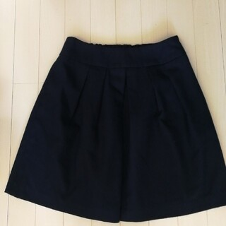 プーラフリーム(pour la frime)のプーラフリームのタックフレアスカート!(ひざ丈スカート)
