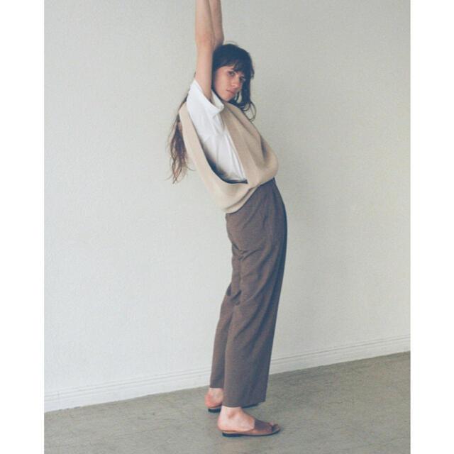 Ameri VINTAGE(アメリヴィンテージ)のCLANE  クラネ  basic tuck pants レディースのパンツ(カジュアルパンツ)の商品写真