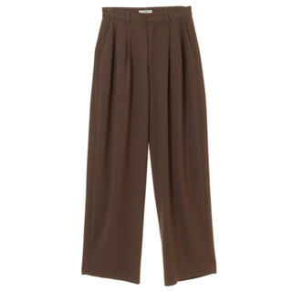 Ameri VINTAGE - CLANE  クラネ  basic tuck pants