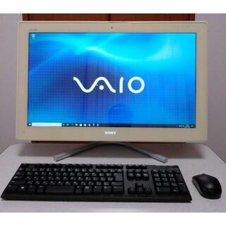 ソニー(SONY)のVAIO Win10Pro Corei7 8GB 新品SSD240GB(デスクトップ型PC)