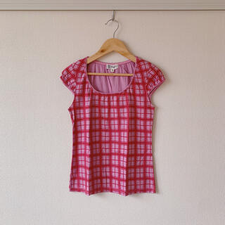 ミッシェルクラン(MICHEL KLEIN)の❥ ❥ MICHEL KLEIN Tシャツ ピンク 夏(Tシャツ(半袖/袖なし))
