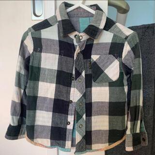 エフオーキッズ(F.O.KIDS)の綿100シャツ 90(ブラウス)