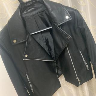 ジーユー(GU)のgu レザージャケット(ライダースジャケット)