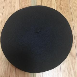 ドラゴン(DRAGON)のレア美品 ウール100% DRAGON バスクベレー帽(ハンチング/ベレー帽)