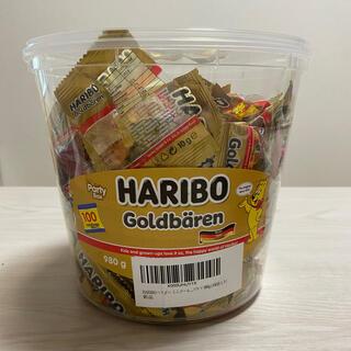 ゴールデンベア(Golden Bear)のハリボー ミニゴールドベア バケツ 980g 100袋入り(菓子/デザート)