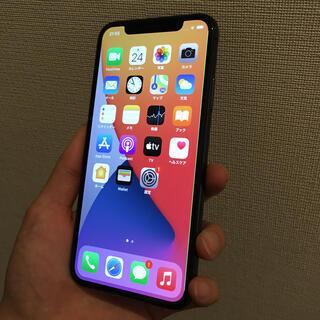 iPhone - iphone X 64GB スペースグレー simフリー