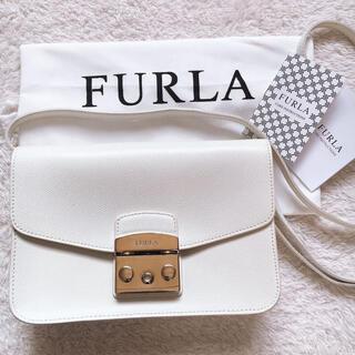 フルラ(Furla)の【FURLA】フルラ メトロポリスショルダーバッグ アイボリー 白 ホワイト(ショルダーバッグ)