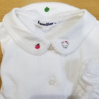 familiar - ファミリア 90 ブラウス 長袖