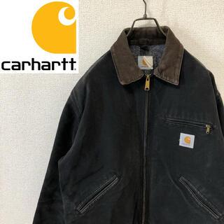カーハート(carhartt)の【希少】カーハート ロゴタグ ビッグサイズ ダックジャケット くすみグレー(ブルゾン)