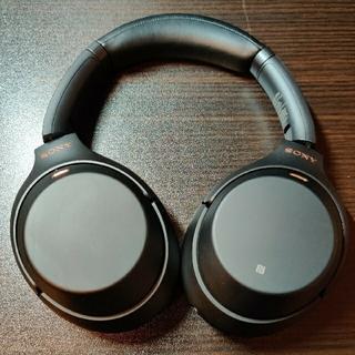 ソニー(SONY)の【美品】SONY WH-1000XM3 ワイヤレスヘッドホン ノイズキャンセリン(ヘッドフォン/イヤフォン)