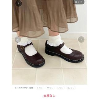 【m❤︎様専用】フェイクレザーラウンドトゥシューズ