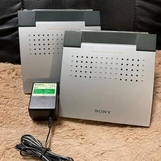 ソニー(SONY)のSONY ICF-CD2000 2個 ACアダプタ付き(ポータブルプレーヤー)