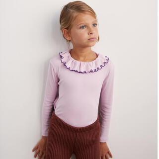 Caramel baby&child  - 2020aw mishaandpuff Paloma Top - Lilac