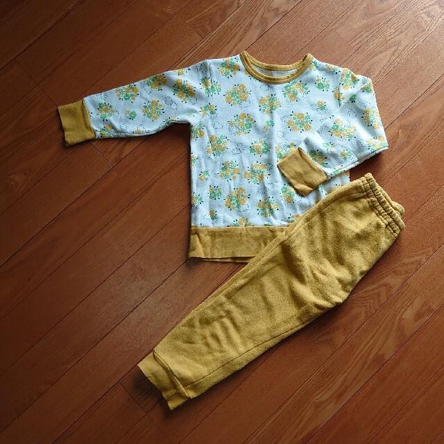 ampersand(アンパサンド)のAmpersand*パジャマ100 キッズ/ベビー/マタニティのキッズ服女の子用(90cm~)(パジャマ)の商品写真